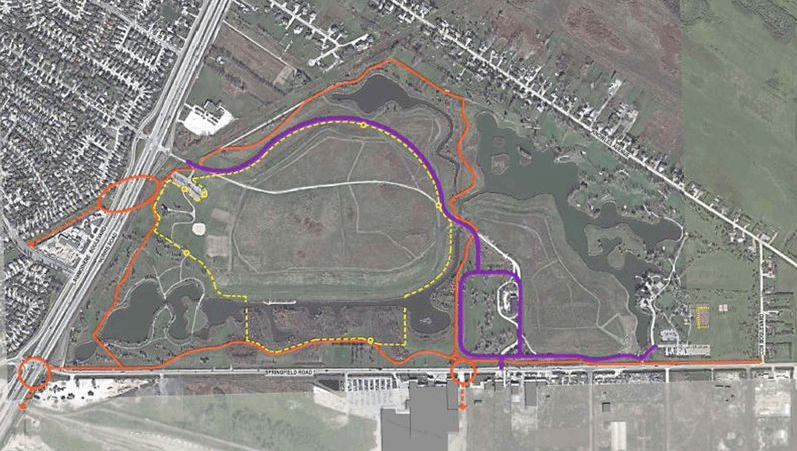 Kilcona Park Map Improvements July 31 2014